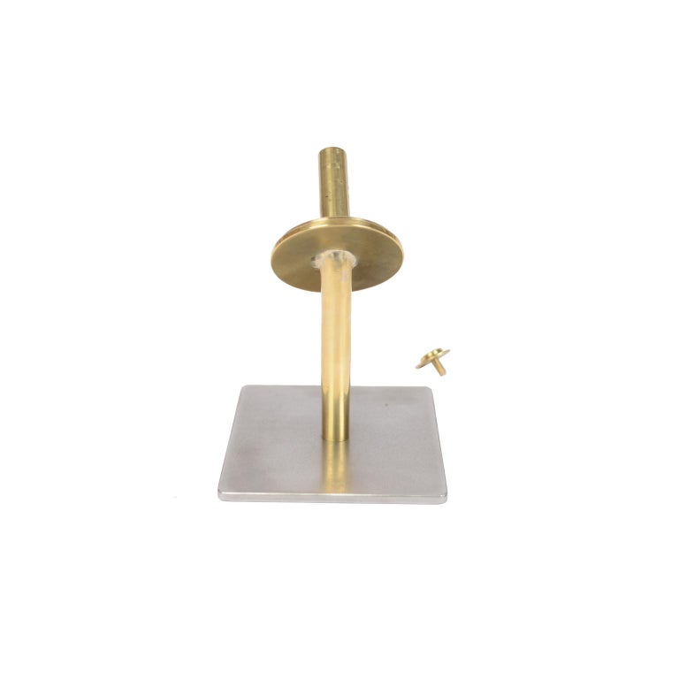 Small Two-Bladed Bronze Propeller with Base For Sale 6