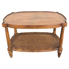 Small Two Tiered Coffee Table