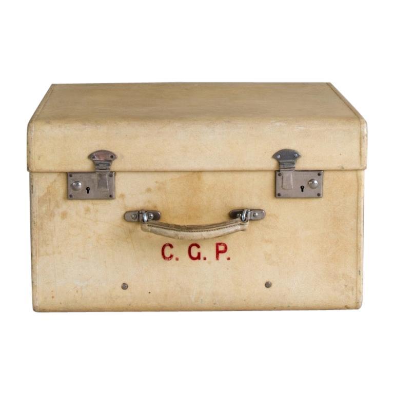 Small Vellum Suitcase, circa 1920