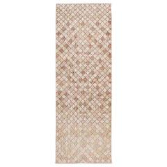 Small Vintage Art Deco Wool rug