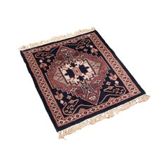 Small Vintage Hallway Rug, Persian, Wool, Reception Hall, Prayer, Mat