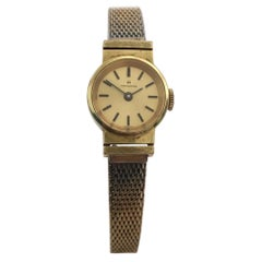 Small Vintage Hamilton Gold-Plated Ladies Wristwatch