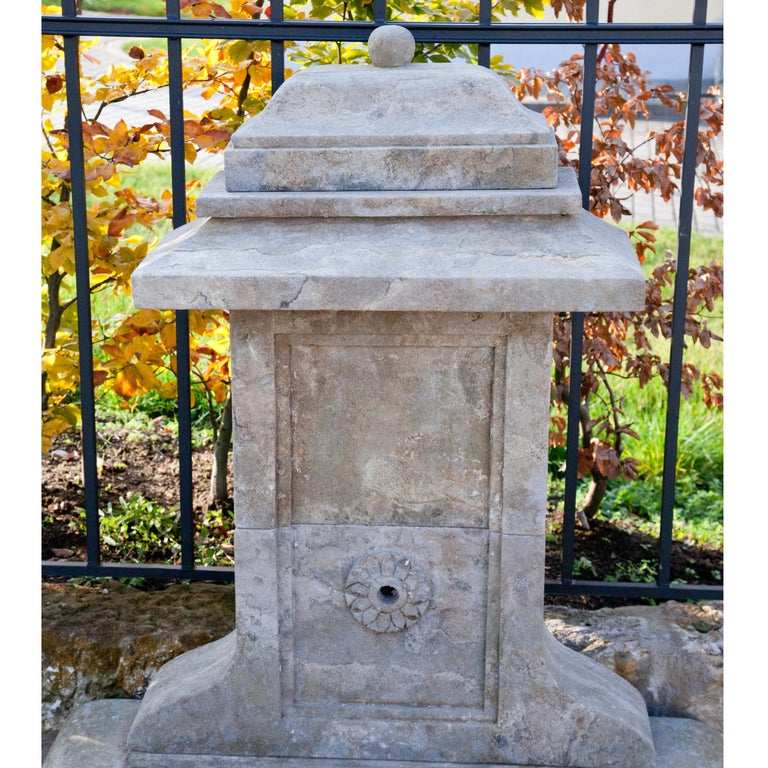 Contemporary Small Wall Fountain, 21st Century For Sale