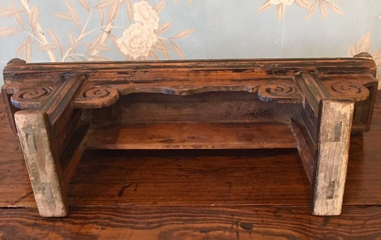 19th Century Small Wooden Altar Table For Sale