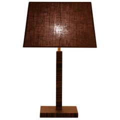 Small Woody Table Lamp