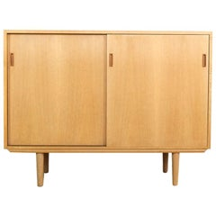 Smaller Midcentury Danish Sideboard in Oak by SKM