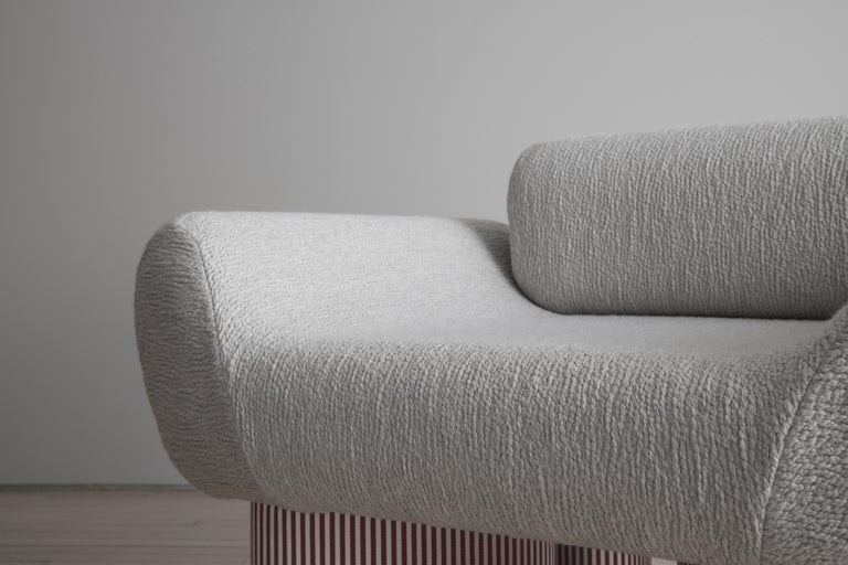 Smile Chair Giancarlo Valle Edition Courbet For Sale 4
