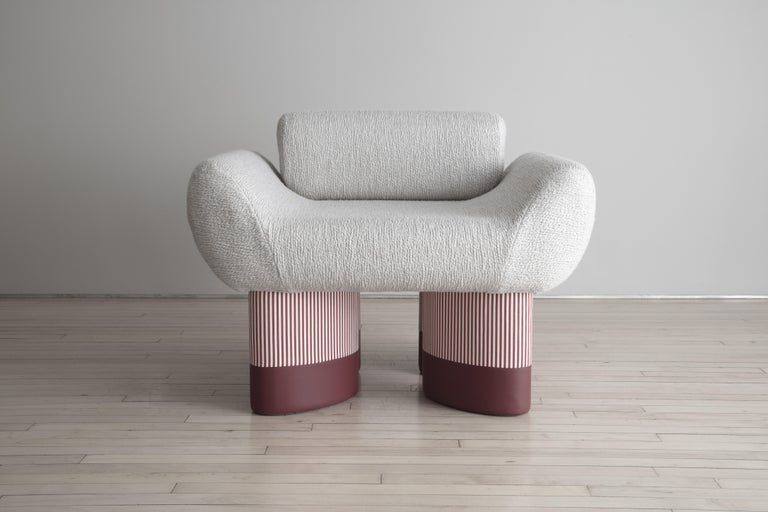 Smile Chair Giancarlo Valle Edition Courbet In New Condition For Sale In New York, NY