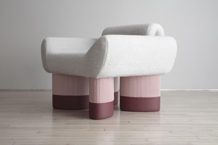 Smile Chair Giancarlo Valle Edition Courbet For Sale 1