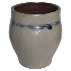 Smith Stoneware Jar Crock from NY