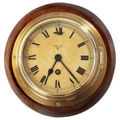 Smiths Astral Brass Bulkhead Clock