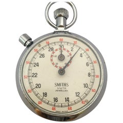 Smiths Sport Timer 1/10 TH Jewelled Stop Watch Handheld Fitness Sports