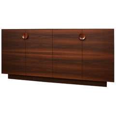 Tramonto Smoked Eucalyptus and Etimoe Wood Sideboard
