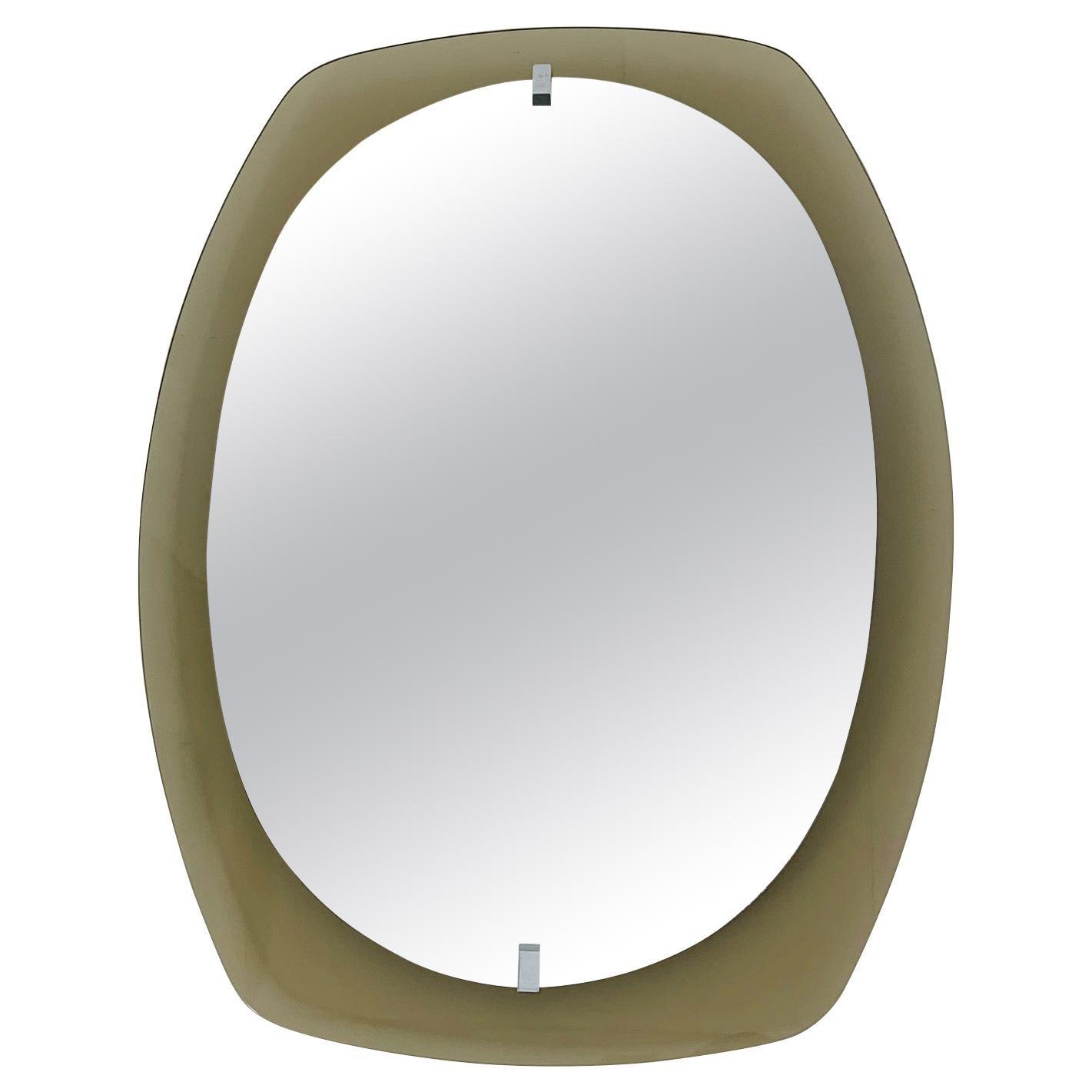 Smoky Beveled Mirror by Veca