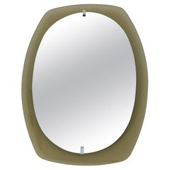 Smoky Beveled Mirror by Veca