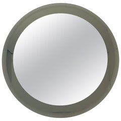 Smoky Round Mirror by Lupi