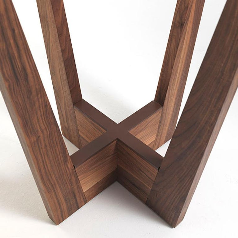 Snack Full Wood Table Set of 3 For Sale 2