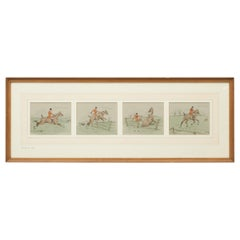 Snaffles Fox Hunting Print 'Landing His Wager'
