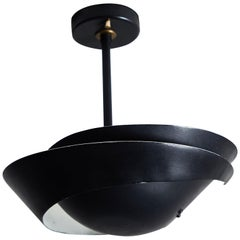 """Snail"" Ceiling Light Attributed to Serge Mouille"