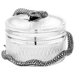 Snake Large Round Box