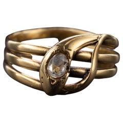 Snake Ring Antique European