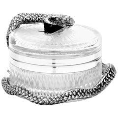 Snake Small Round Box