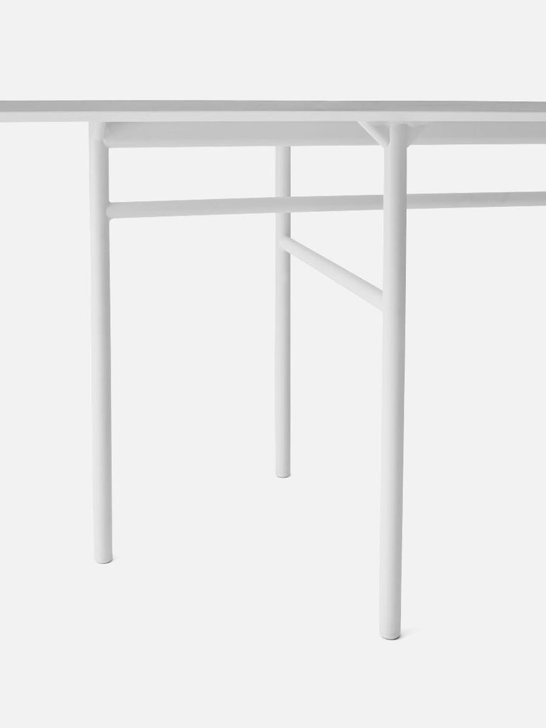 Thoroughly tested by founder and creative management.  Originally Norm Architects designed a table especially for Bjarne Hansen – the creative director and founder at Menu. The table was meant for Bjarnes living room at home. While at it, Norm