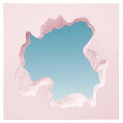 "Snarkitecture, ""Broken Square Mirror Pink"", 2021"
