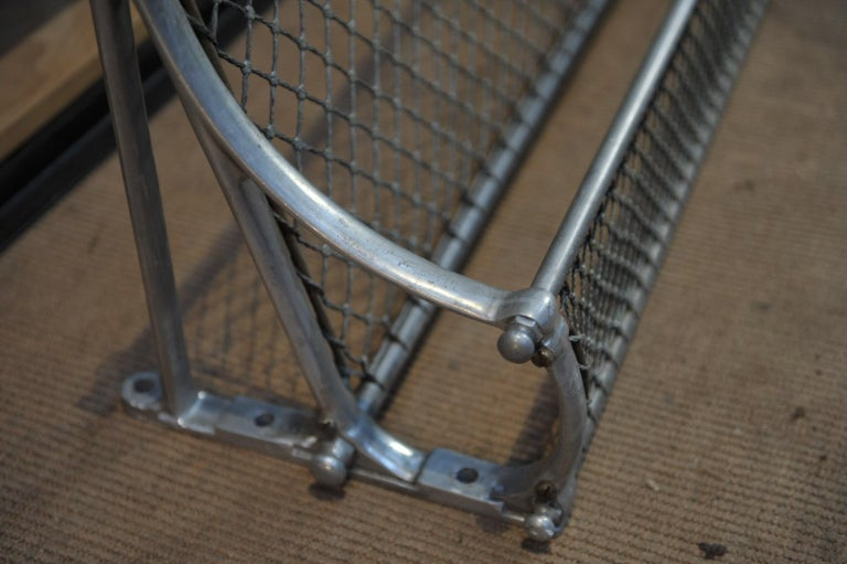 SNCF French Rail Way Luggage Rack, 1950 For Sale 1