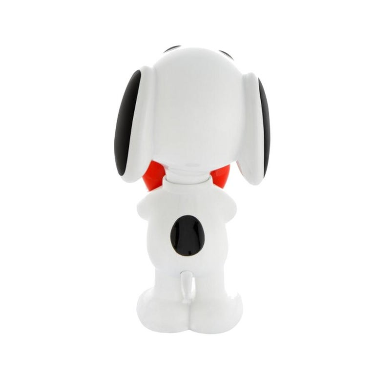 French In Stock in Los Angeles, Snoopy Heart Original Pop Sculpture Figurine For Sale