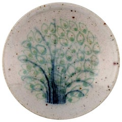 Snorre Stephensen for Royal Copenhagen, Small Stoneware Bowl Decorated with Tree