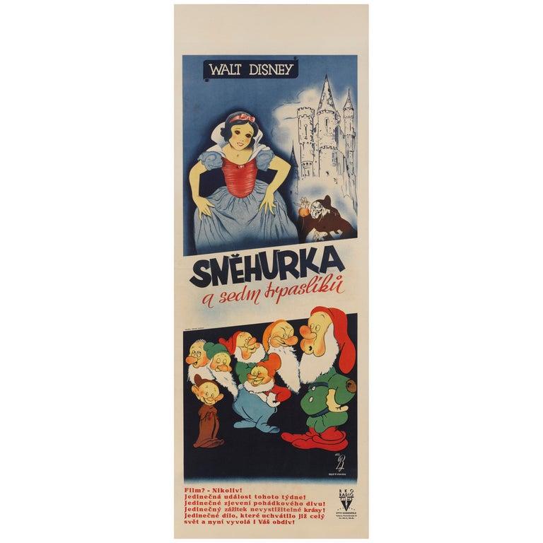 Snow White and the Seven Dwarfs / Snehurka a Sedin Trpasliku For Sale