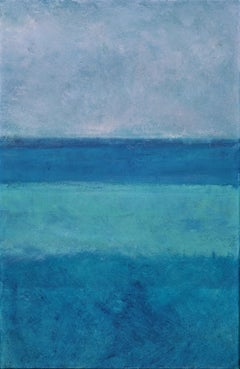 Blue on Blue 3, Painting, Oil on Canvas