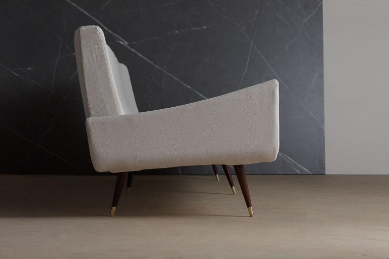 Brazilian 'So 801' 4 Seat Rosewood Sofa by Jorge Zalszupin, Brazil, 1960s For Sale