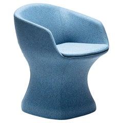 So-Pretty Blue Armchair by Dario Deplin