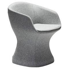 So-Pretty Gray Armchair by Dario Deplin