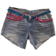 SOAB Blue denim shorts