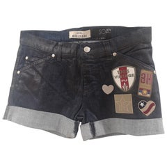 SOAB Blue patterns shorts