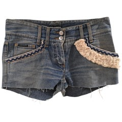 SOAB Denim handmade shorts