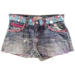SOAB denim shorts