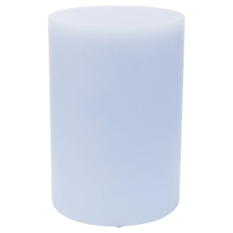 SOAP Column Stool or Side Table by Sabine Marcelis, Ice-Lavender For Sale