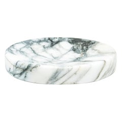 Soap Dish in Paonazzo Marble