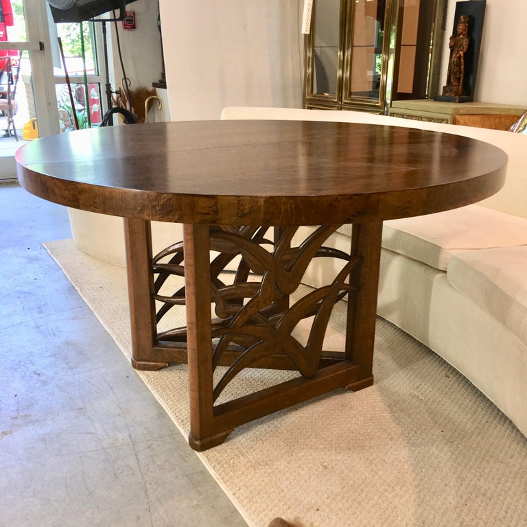 American Soaring Seagulls Dining Table by Adolfo Genovese For Sale
