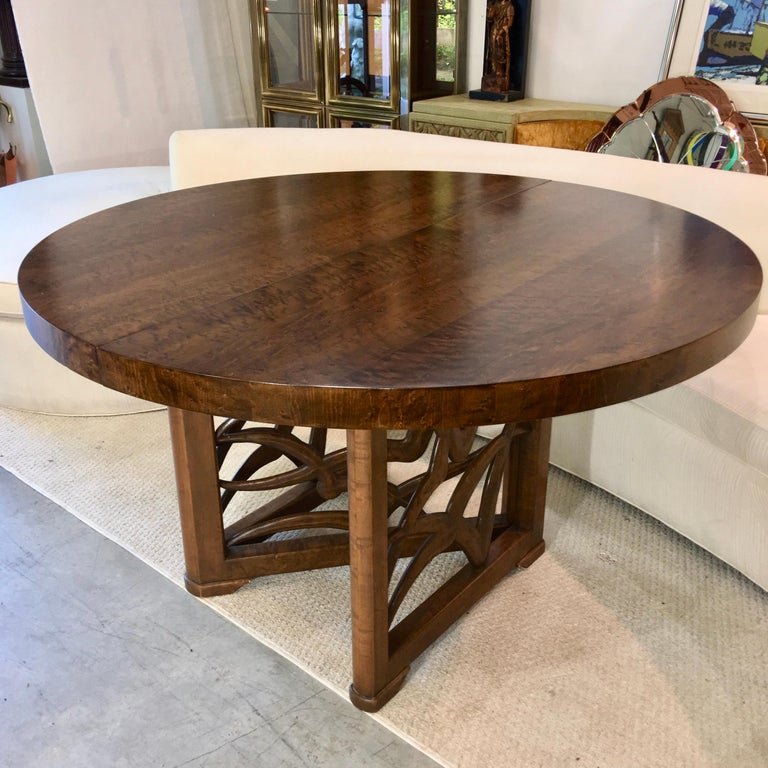 Veneer Soaring Seagulls Dining Table by Adolfo Genovese For Sale