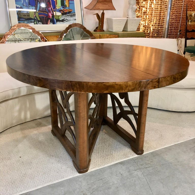 Soaring Seagulls Dining Table by Adolfo Genovese In Good Condition For Sale In Hingham, MA
