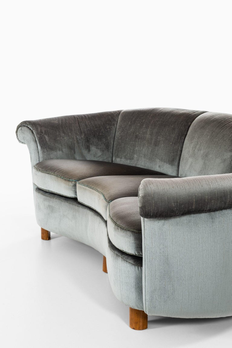 Sofa Attributed to Otto Schulz Produced by Boet in Sweden For Sale 3