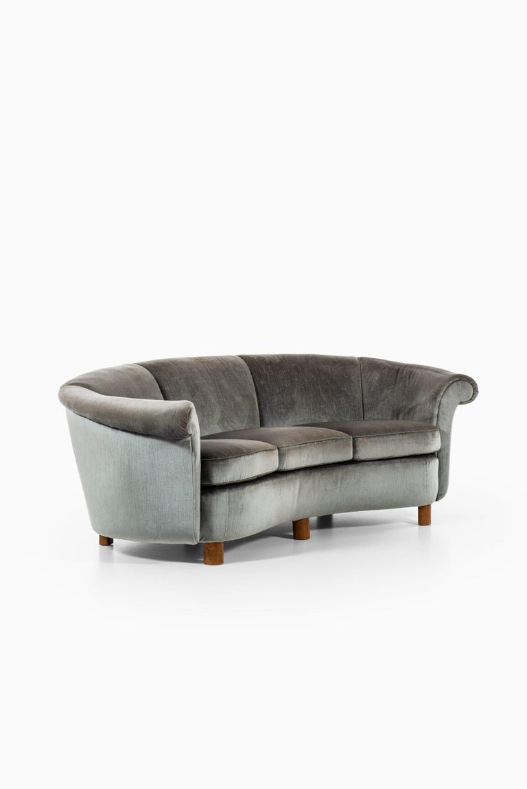 Mid-20th Century Sofa Attributed to Otto Schulz Produced by Boet in Sweden For Sale
