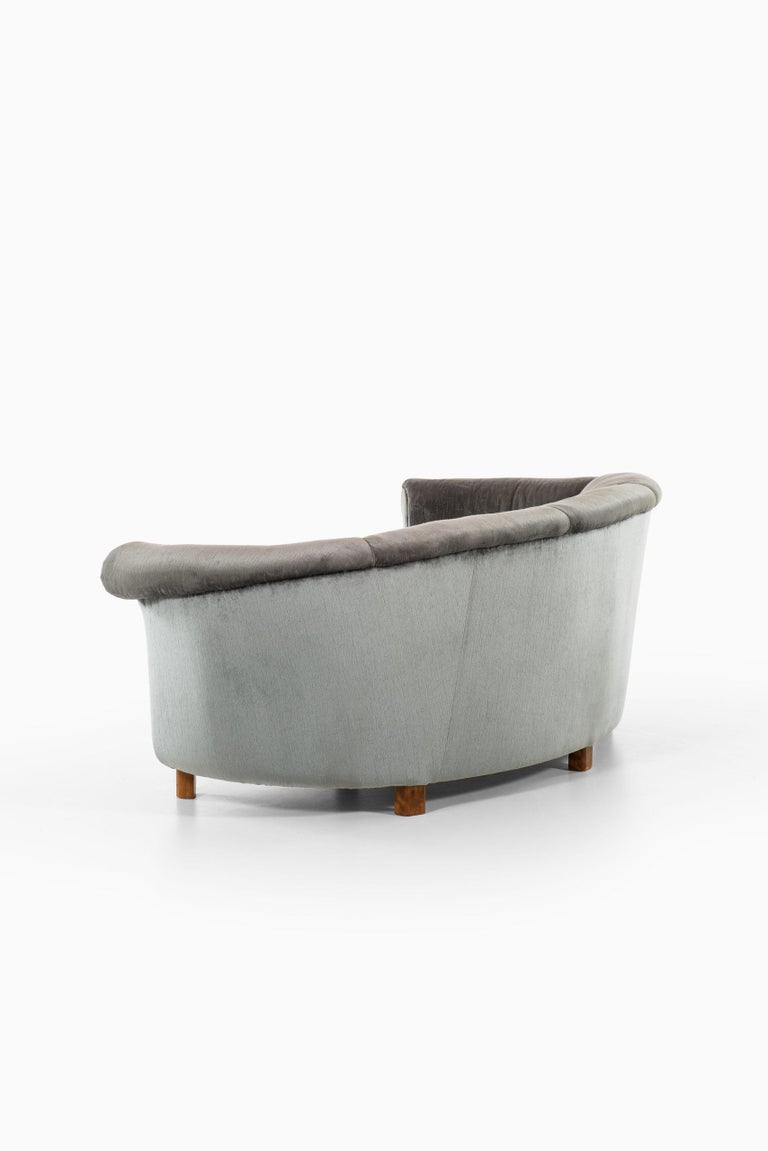 Sofa Attributed to Otto Schulz Produced by Boet in Sweden For Sale 1