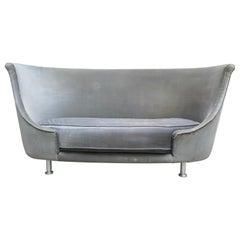 Sofa or Bench in Shaved Velvet Moroso