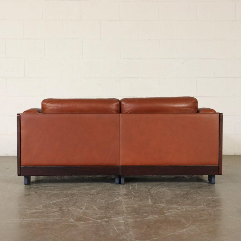 Sofa by Afra & Tobia Scarpa Leather Vintage, Italy, 1960s-1970s For Sale 7